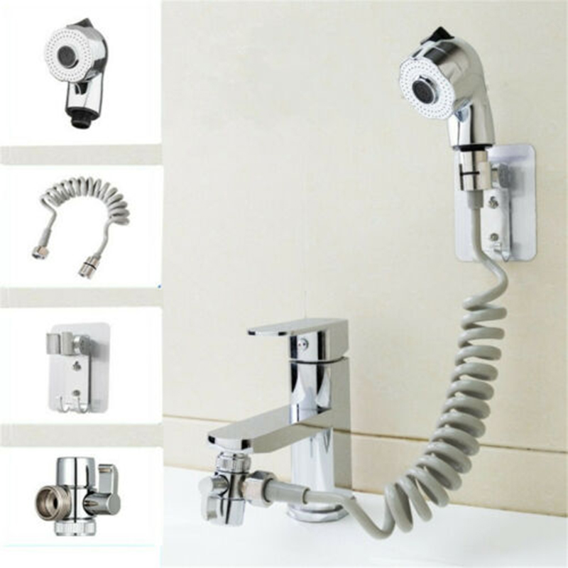 Bathroom Faucet Sprayer Sprinkler+Base+Hose+Valve Set For Hand Basin Sink Bathroom Accessories Shower Faucet Filtered Faucet