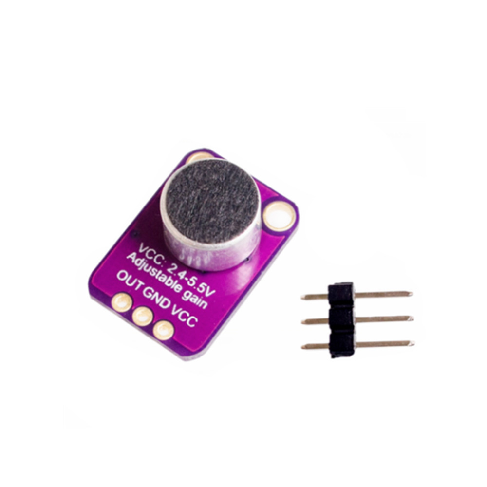 1Pcs Electret Microphone Amplifier MAX4466 With Adjustable Gain For Arduino N oc