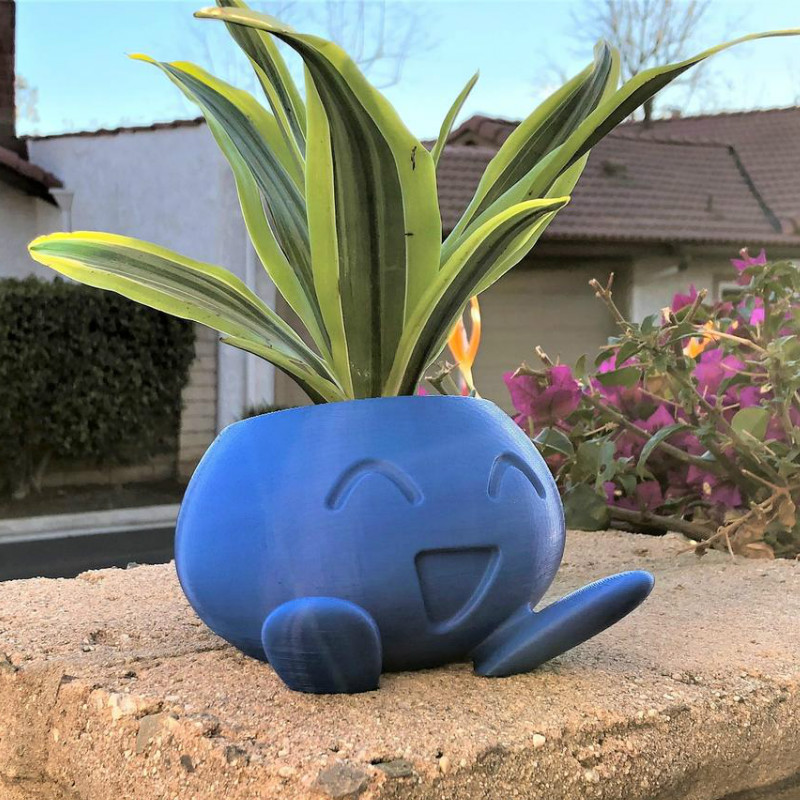 Oddish Planter Oddish Flower Pot Succulent Flower Pot Plant Pot Planter