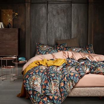 Egyptian Cotton Bedding Floral Fan