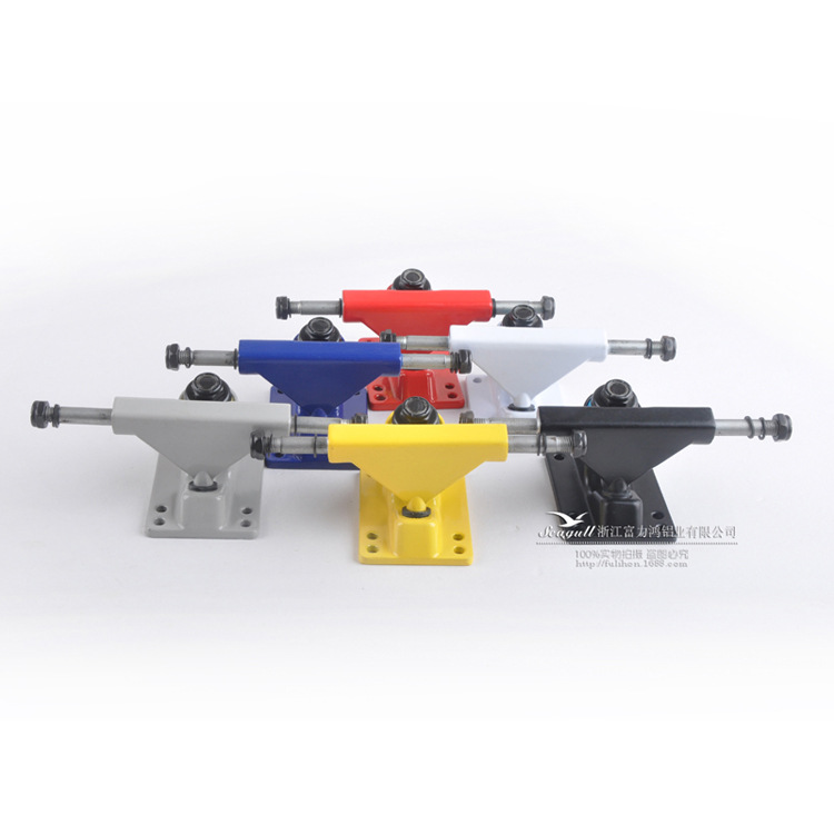 Manufacturers Direct Selling/Four Wheel Skateboard Fish Skateboard Seagull Holder/3.25 Inch 150-1 Tray (-Spray Color)