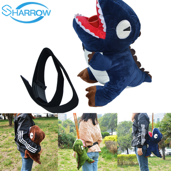 Archery Arrow Bag Creative Cartoon Dinosaur Belt Waist Hip Portable Arrow Quiver Tube Hunting Accessories Shooting Practice Gift