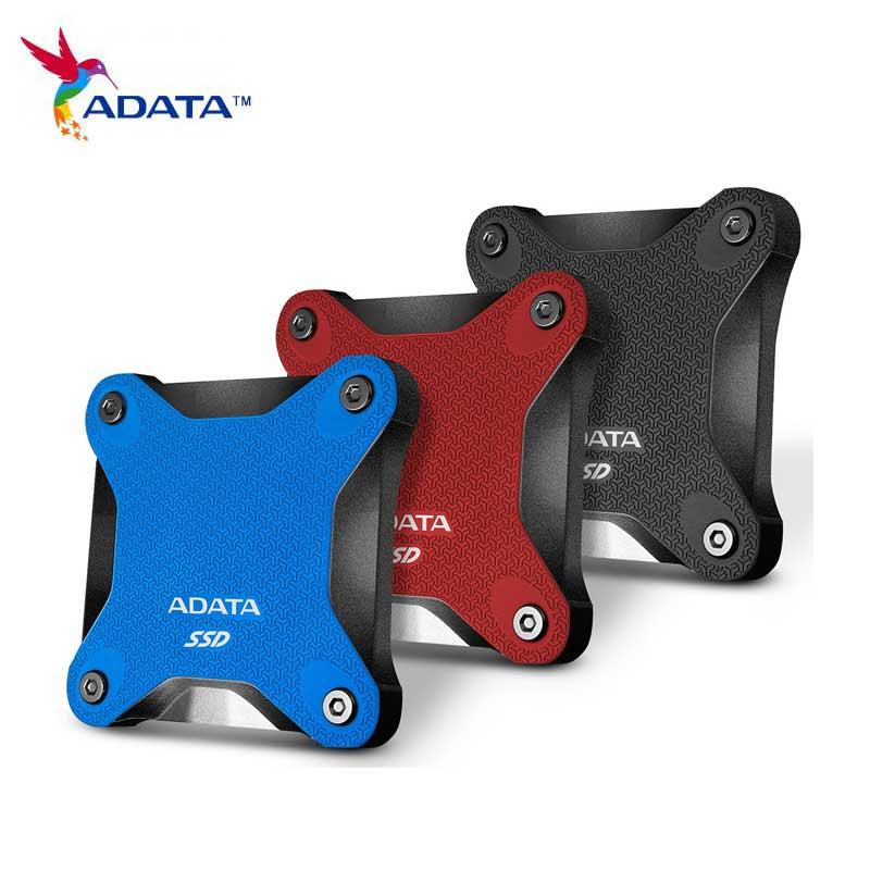 Processeur Disque dur Externe 2 to 240gb 960gb Portable SSD USB 3.1 3D NAND noir bleu rouge Disque ssd Externe SD600Q pour Ultrabook