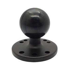 Шаровое Крепление с рыболокатором и универсальной монтажной пластиной, Аксессуары Для Каяка/основание с шаровой головкой 1,5 дюйма/двойное ...