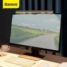 Baseus-Lámpara de escritorio para ordenador, luz de pantalla para portátil, USB, lámpara colgante, lámpara de mesa, Monitor, luz de lectura para estudio