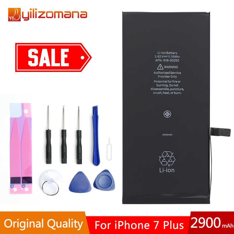YILOZOMANA מקורי קיבולת טלפון סוללה עבור iPhone X 7/7 בתוספת 8/8 בתוספת החלפת סוללות משלוח כלים חבילה הקמעונאי
