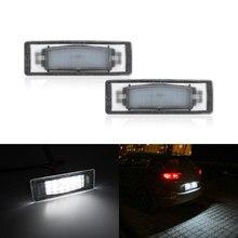 Для Hyundai I40 2011 2012 2013 2014 2015 2016 SMD Белый Ошибка Бесплатный номер светодиод Подсветка регистрационного номера лампы 2 шт