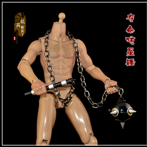 1:6 Weapon Model Iron Chain Nine Claw Hook Meteor Claw Weapon Flying Claw Hundred Training Cable Eagle Claw Soldier Accessories