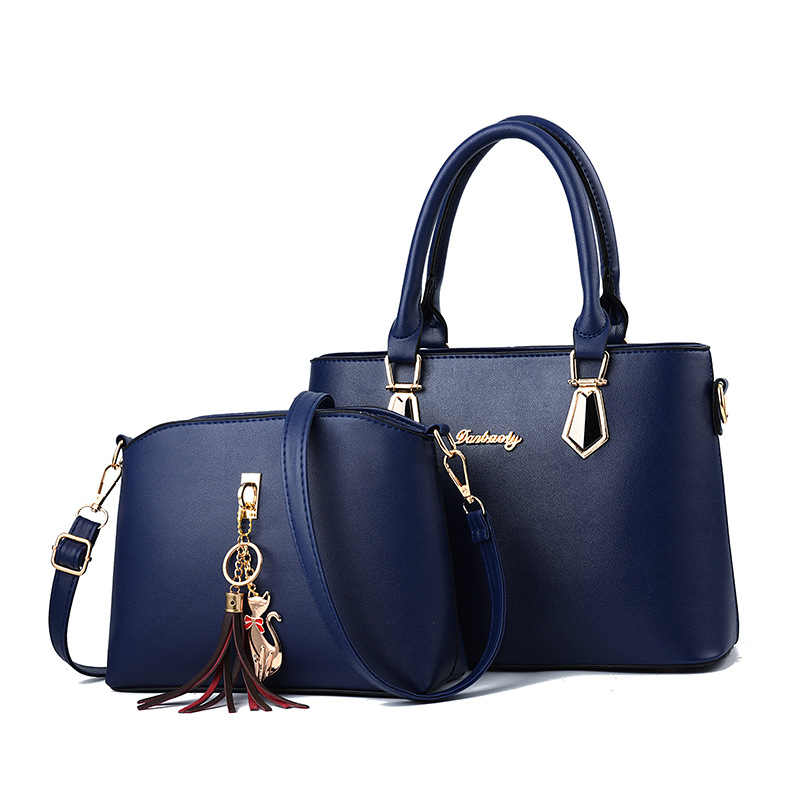 Luxury Handbags Designer Shoulder Bags Women Handbags Fashion Casual Totes New Bags For Women 2pcs/set Composite Bag