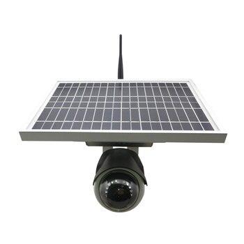 DTY New green power backup powered wireless solar ip home camera, P8S series 1