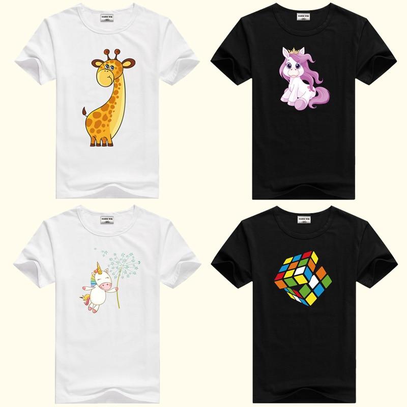 DMDM PIG Summer Children Clothing Boys T Shirt Cotton Short Sleeve T-shirt Infant Kids Boy Girls Tops Casual T-shirt 2-4Y Shirt