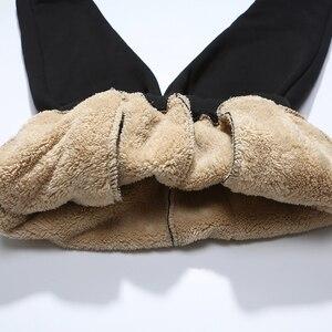 Image 3 - Ensemble de survêtement épais chaud pour homme, survêtement masculin, sweater à capuche cachemire, XS 4XL