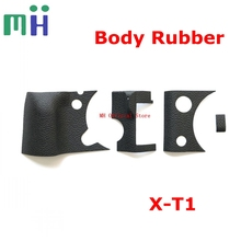 Yeni orijinal XT1 vücut kauçuk tutma kapağı Fuji Fujifilm için X T1 XT1 kamera değiştirme ünitesi onarım bölümü