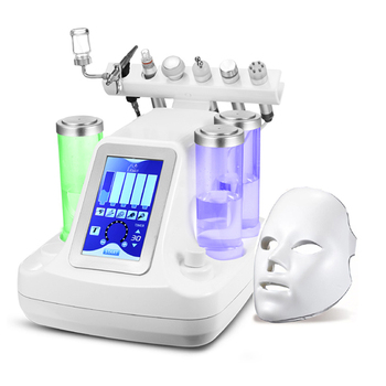 7 in 1 Hydra Facial Water Oxygen Jet Peel Machine Vacuum Face Pore Cleaning BIO-lifting Skin Rejuvenation Mouisture Care Tool 11 in 1multi function pdt hydra beauty equipment hydra microdermabrasion oxygen facial machine skin rejuvenation exfoliators