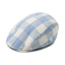 Cotton Hat Caps Berets Gentleman Baby Boys Kids Fashion Children Cute Autumn Adjustable