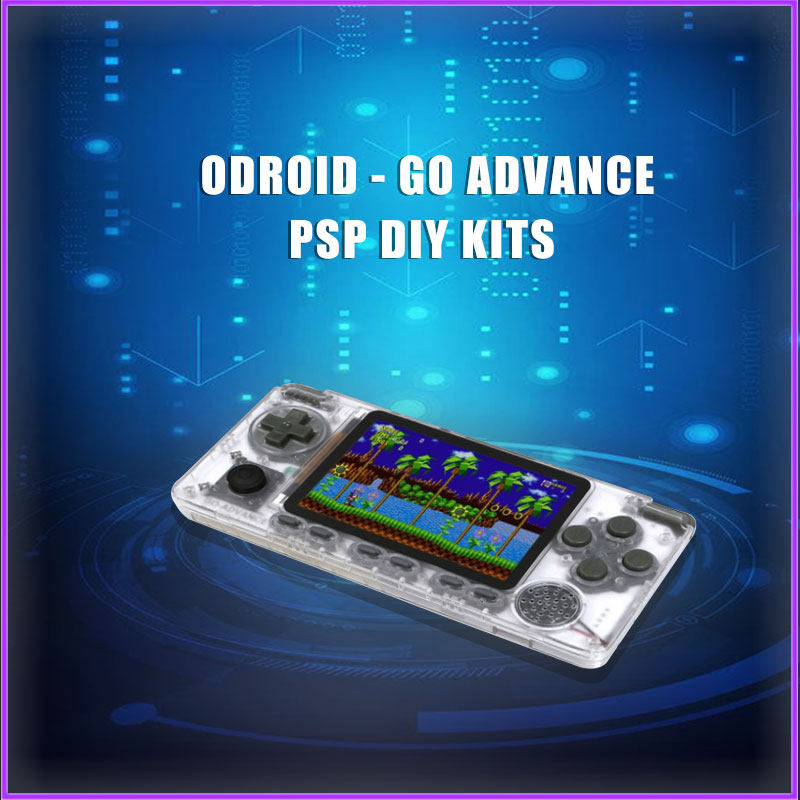 ODROID - GO ADVANCE PSP DIY Kits RK3326 Quad-core A35 Simulate The PSP 1 Order