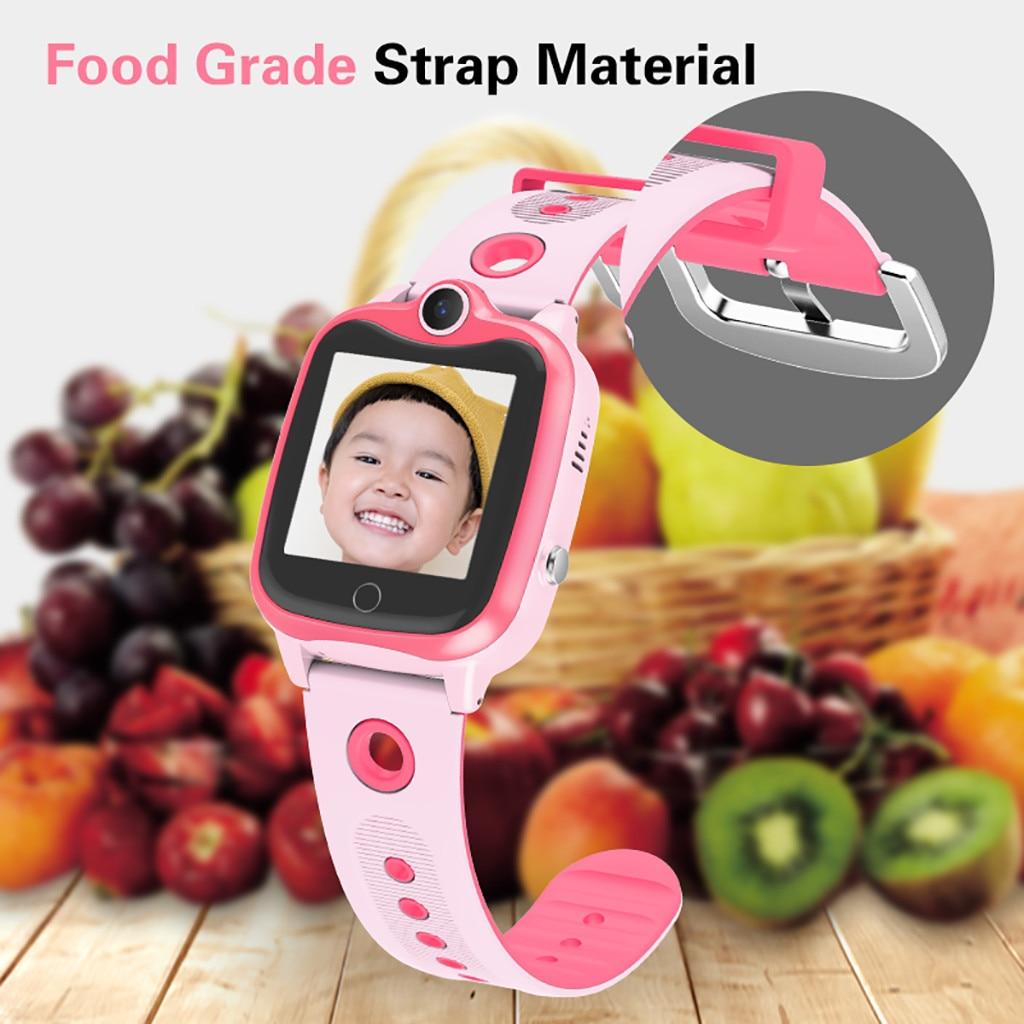 Children's Watch Camera Phone Tracking Positioning Card Waterproof Smart Watch HD Display Camera  IP67 Waterproof  For Ios