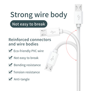 Image 4 - USB Data Cable for Xiaomi Security Surveillance Wifi Camera Power Charging Extension Cable Driving Recorder Usb Micro Cable