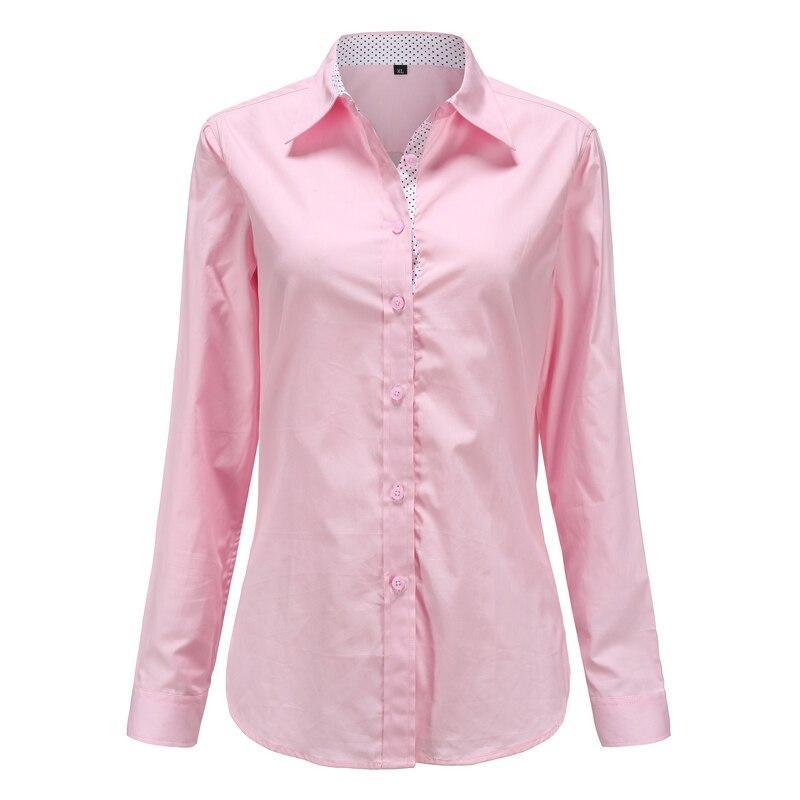 5XL Patchwork Long Sleeve Shirts Women Blouse Autumn Lapel Office Ladies Button Casual Shirt Plus Size Blouses Blue Tops Blusas