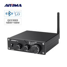 AIYIMA Bluetooth 5.0 TPA3116 Digital Amplifier Audio Board 100Wx2 Hifi Stereo Power Home Amplifier Module NE5532x4 OP Amp lusya classic bile op amp 300b 2a3 kt88 hifi op tube amplifier sound op amp upgrade module t1321