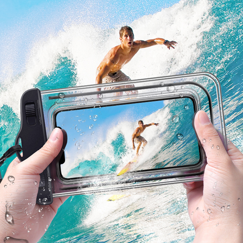 Universal Waterproof Phone Case Swimming Bag Mobile Phone Pouch Cover For Samsung S10 S9 For iPhone 11 XS MAX 8 7 for Huawei