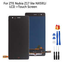 Original For ZTE Nubia Z17 lite NX591J LCD Display Touch screen Digitizer 5.5 Replacement For Nubia NX591J Screen LCD Display jonsnow full coverage tempered glass for zte nubia z17 lite 5 5 inch protective film for zte nubia m2 lite screen protector