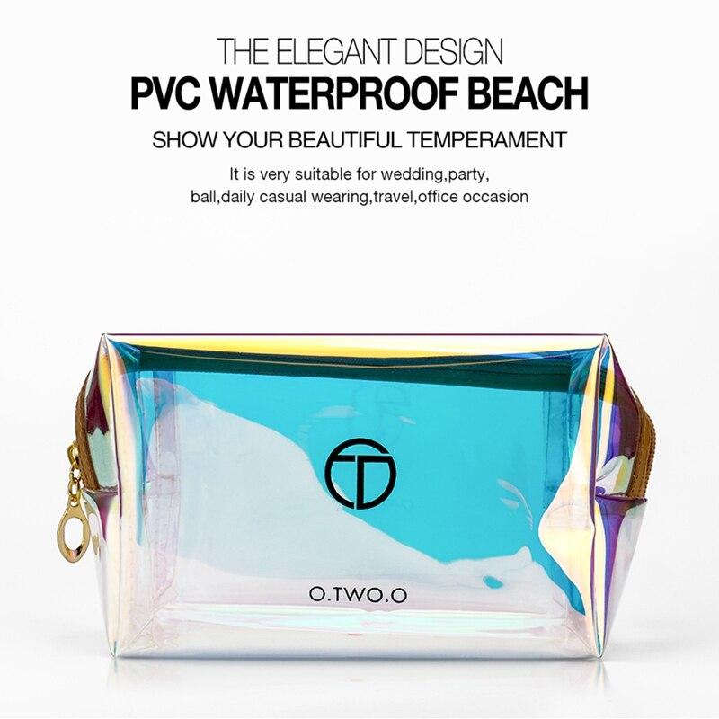Fashion  Zipper Travel Wash Pouch Toiletry Travel Storage Bag Mini Casual Portable Cosmetic Bag Waterproof Makeup Organizer