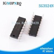 100 piezas sm3524n DIP-16 sd3524 controlador de interruptor regulador de ancho de pulso modulador nuevo original envío gratuito