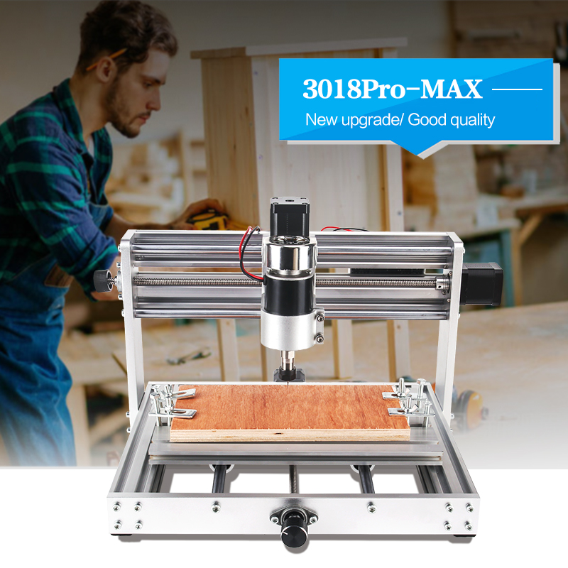 CNC Machine 3 Axis PCB Milling machine With 200W Spindle 1
