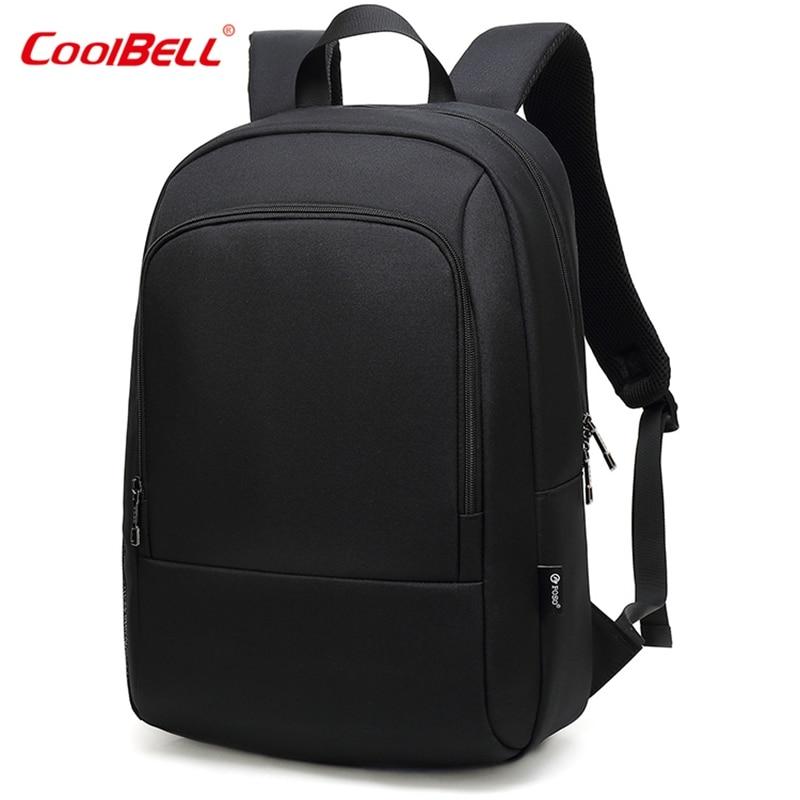 Multifunction USB Charging School Bag Business Casual Travel Bag Waterproof 15.6 Inch Laptop Backpack Men Male Backpack
