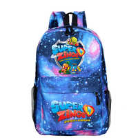 Mochila Super Zings Mochila mujeres Mochila Para Hombre Plecak mochilas de escuela Para niñas saco un Dos Homme Galaxy Mochila pequeña niños