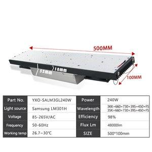 Image 5 - 2020 Mới Nhất Mờ 408 Samsung Lm301h 3000K 3500K 660nm Đỏ Lượng Tử Tech Led Tàu 240W Phát Triển ánh Sáng Suốt