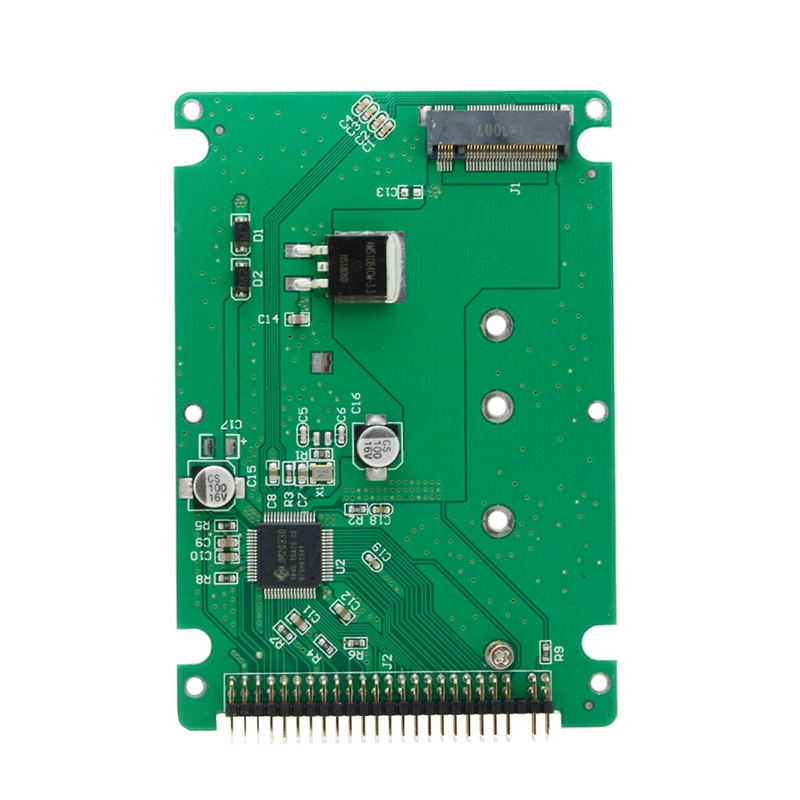 M.2 NGFF B+M Key SATA SSD To 44 Pin 2.5 IDE Converter Adapter Card With Case