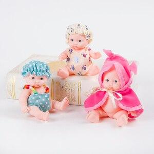 Image 5 - Lol בובות צעצועי בנות תינוק reborn סיליקון Reborn בובת עשויה לנוע בובת תינוק בן יומו אמיתי הרכבת בובת 3D עיני כדורי