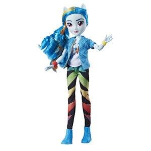 Image 5 - My Little Pony 28cm toys Twilight Sunset Shine Pinkie Pie girl model birthday gift PVC Action Figure Toys