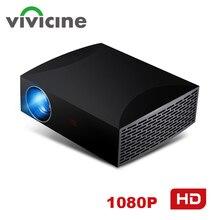 Vivicine F30 1920X1080 Full HD проектор, HDMI USB PC 1080p светодиодный домашний мультимедийный видеопроектор