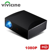 Vivicine F30 1920X1080 Full HD Proyektor, HDMI USB PC 1080 P LED Rumah Multimedia Video Game Proyektor Projector(China)