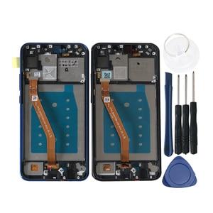 """Image 3 - Ban Đầu Axisinternational 6.3 """"Cho Huawei Nova 3i P Thông Minh + (P Smart Plus) INE LX1 L21 Màn Hình Hiển Thị LCD Khung Màn Hình Cảm Ứng Bộ Số Hóa"""