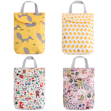 4PCS Baby Diaper Bags For Stroller Backpack Wet&Dry Nappy Bags Mother Organizer Reusable Waterproof Mummy Storage Nursing Bag