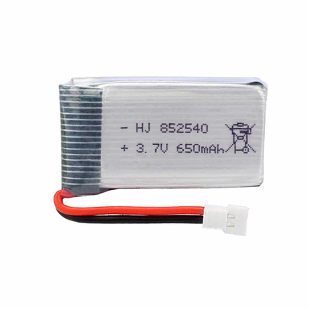 3.7 v 650 2200mah のリポバッテリーと 5 で 2 usb 充電器セット syma X5C X5C-1 X5 H5C X5SW x6SW H9D H5C rc ドローン部品 852540 バッテリー