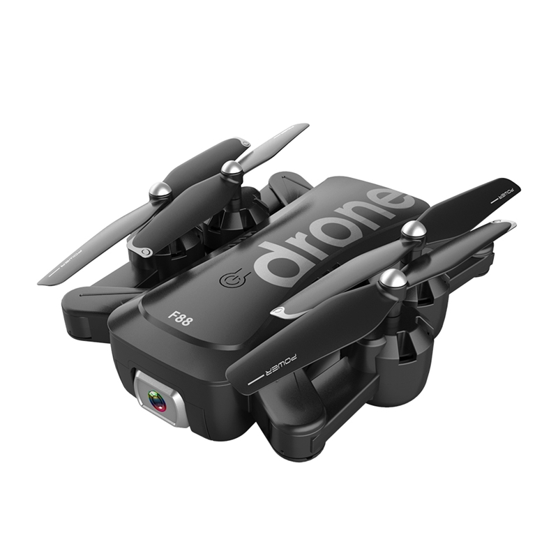 cheapest F88 Drone RC Quadcopter Foldable Portable WiFi Drones with 1080P HD Wide-Angle Live Video Camera Altitude Hold Mode Drone Toys