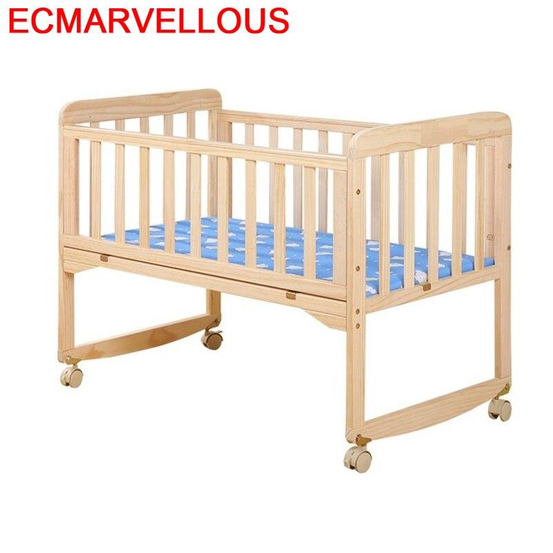 Kinder Bett Lozko Dla Dziecka Letti Per Bambini Cama Infantil Menino Girl Wooden Chambre Enfant Kinderbett Children Kid Bed