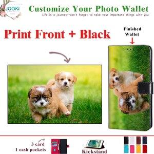 Para Samsung Galaxy A20 fundas personalizadas de lujo para Samsung Galaxy A20 Dual-SIM SM-A205F/DS personalizar su foto cartera cubierta