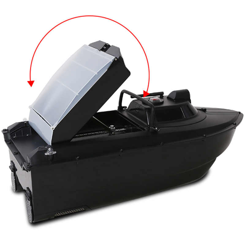 Atualizado jabo 2cg 36a 20a 10a gps sonar retorno automático isca de pesca barco 2.4g gps sonar inventor de peixes 2an-3 5ag (8 ninhos)