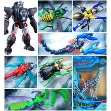Beast wars transformadores bw nightscream selvagem inferno tarântulas airazor waspinator deformação modelo brinquedos