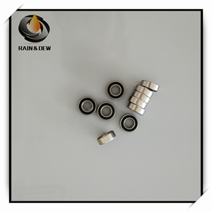10 Pcs 6x13x5 mm Ball Bearing S686-2RS Stainless Steel Bearing S686RS ABEC-7 Anti-rust bearing 686RS Ball Bearing(China)