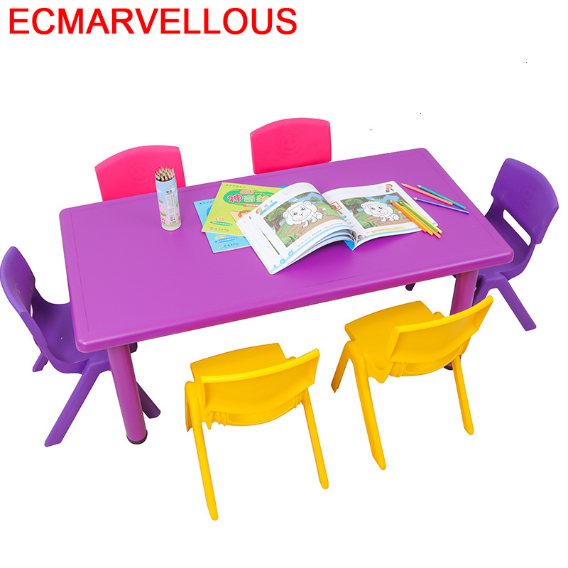 Avec Chaise Pupitre Tavolino Bambini Y Silla Baby Kindergarten Bureau Enfant Kinder Mesa Infantil Study For Kids Children Table
