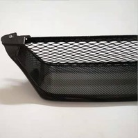 Carbon Fiber Grain Upper Front Bumper Mesh Grille Grill Fit For Toyota AE100 AE101
