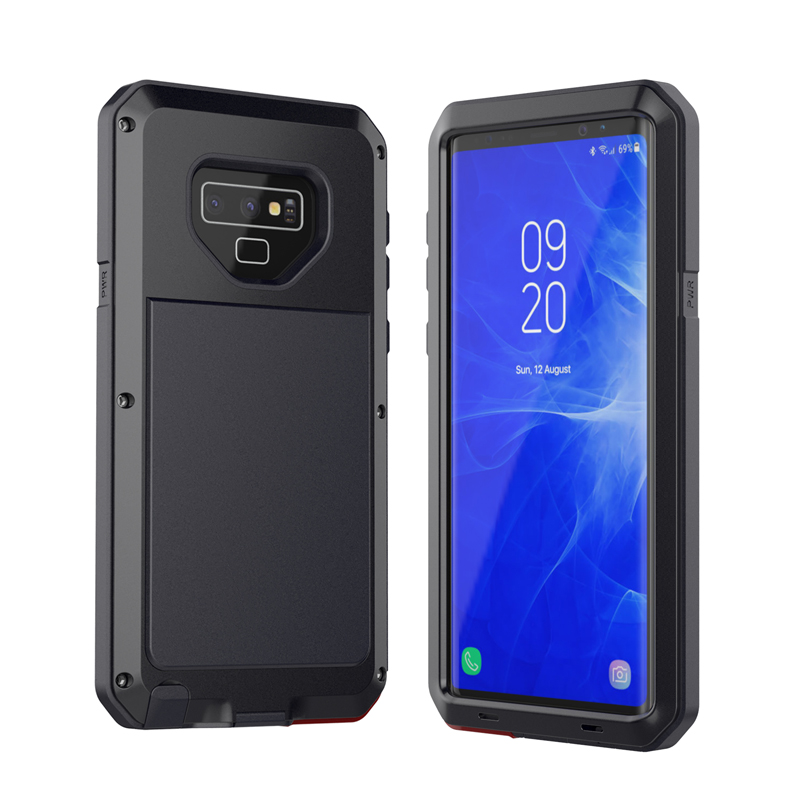 Heavy Duty Aluminum alloy metal phone Case For Samsung Galaxy S5 S6 e 7 8 9 10 e plus Note 3 4 5 8 9 10 Shockproof anti falling|Fitted Cases| |  - title=