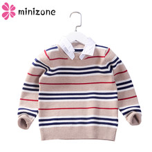 Get more info on the Fashion 2019 New Arrival Casual Autumn Boys Winter Sweaters for Boys O-Neck Or Turn-Down Cotton Knitted Kids Clothes Tops YXBD88